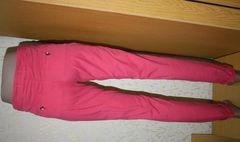 Розовые брюки чиносы, на высокий рост,s Topshop - Фото 3