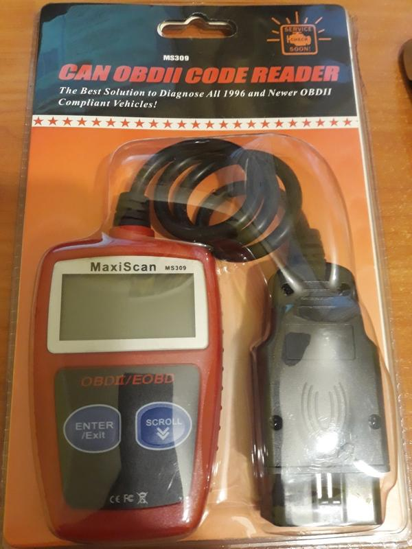 Can OBD II code READER/ Maxiscan MS 309/