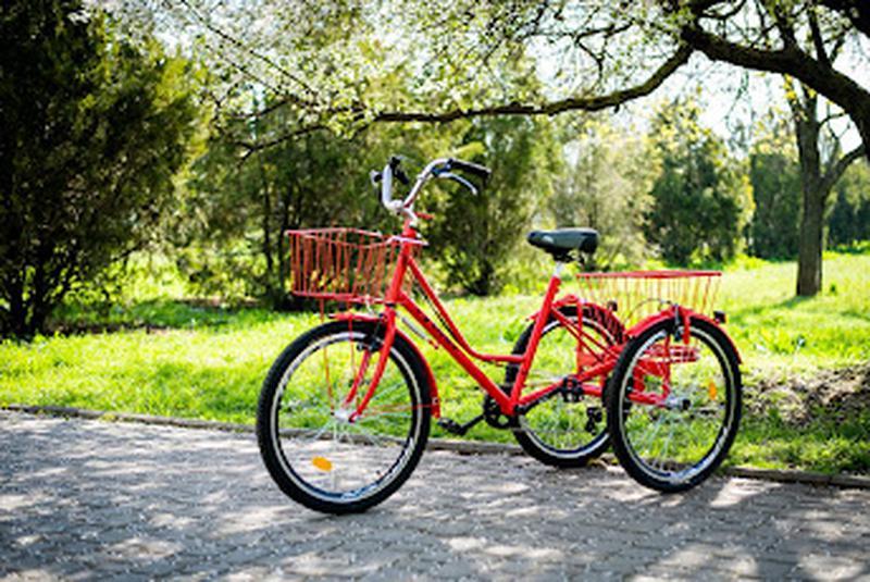 Велосипед трехколесный для взрослых грузовой реабелитационный