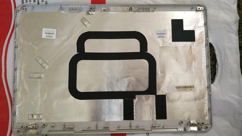 Корпус (поддон) + задняя крышка матрицы HP G62-a55ER (оригинал)