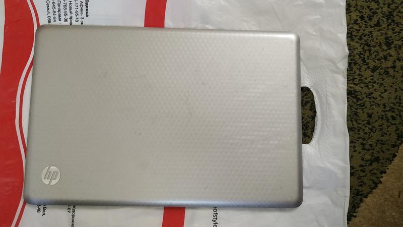 Корпус (поддон) + задняя крышка матрицы HP G62-a55ER (оригинал) - Фото 4