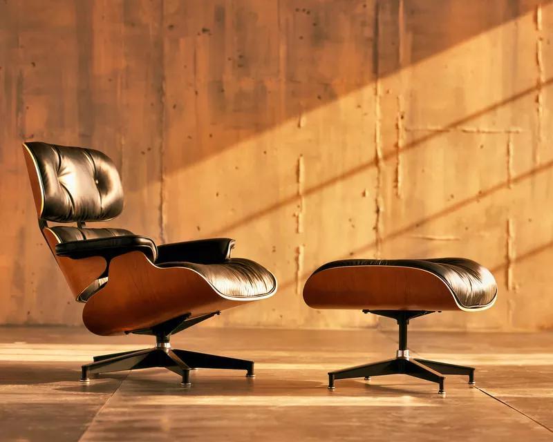 Легендарное кресло Eames Lounge Chair
