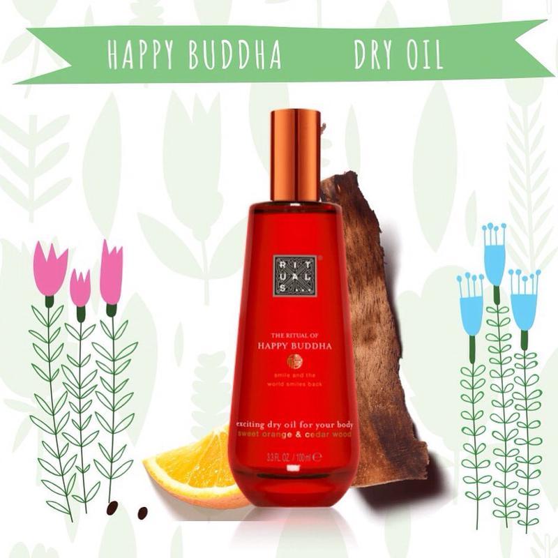 Сухое масло для тела Rituals of Happy Buddha Body Oil