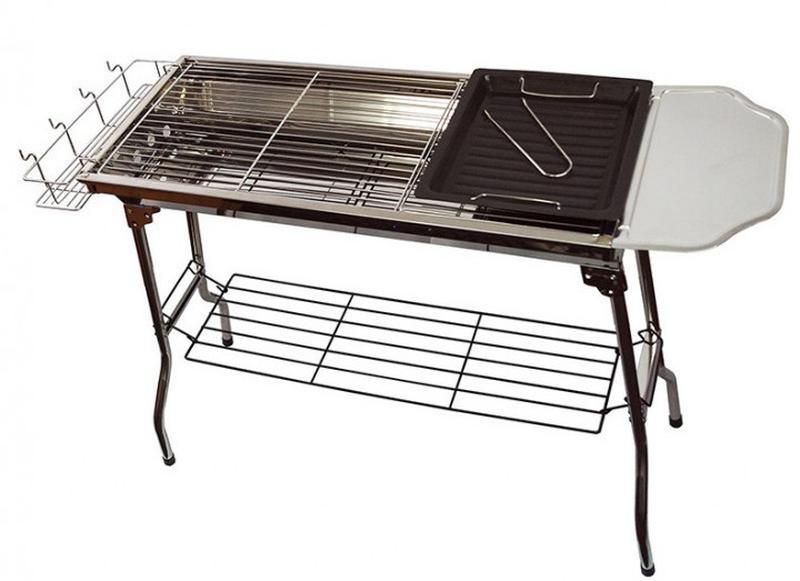 Складной переносной мангал барбекю BBQ Combined Barbecue 76x18x35