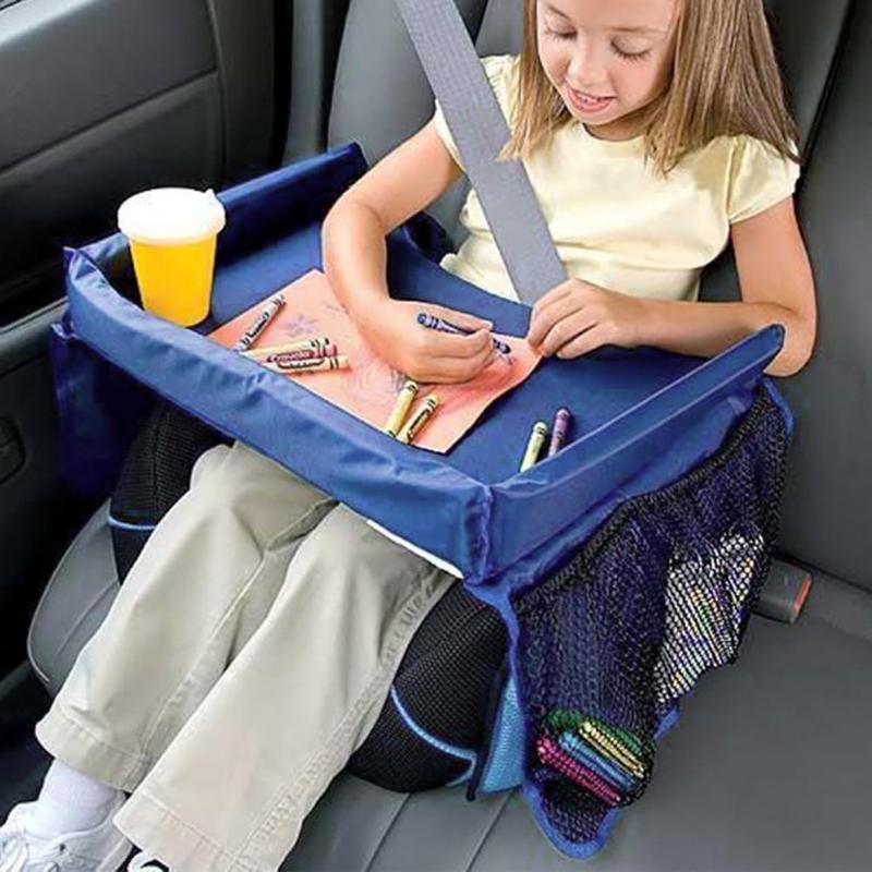 Дорожный детский столик для автокресла Play Snack Tray - Фото 2