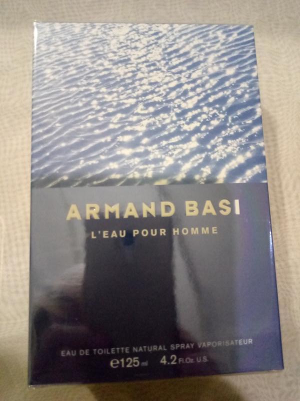 Armand basi l'eau pour homme туалетная вода (тестер с крышечкой) - Фото 5