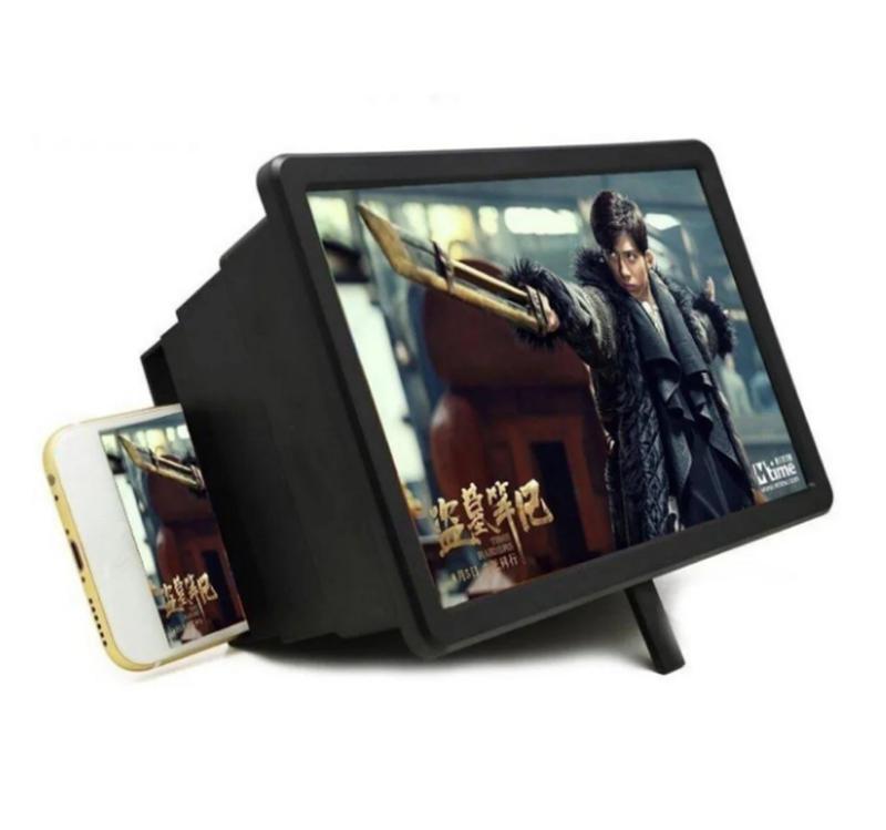 3D Увеличитель экрана для телефона смартфона Lesko F2 Black