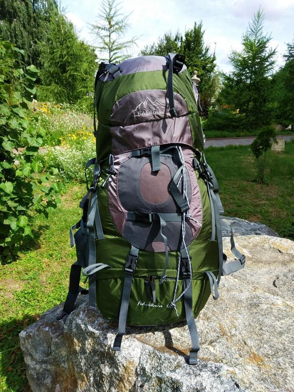 Рюкзак туристический LEADHAKE объем 60 литров - Фото 7