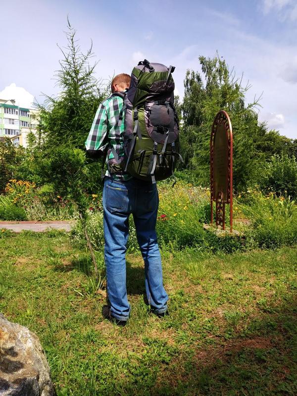 Рюкзак туристический LEADHAKE объем 60 литров - Фото 10