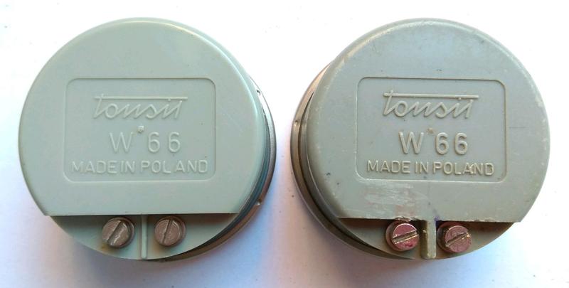 Капсуль телефонный Tonsil W66 Польша 1967г - Фото 2