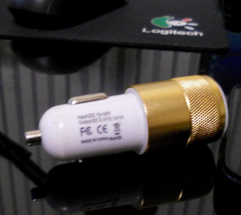 USB адаптер питания в прикуриватель