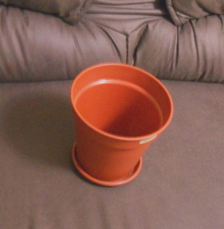 Горшок (вазон) с поддоном глория 19 см - Фото 2