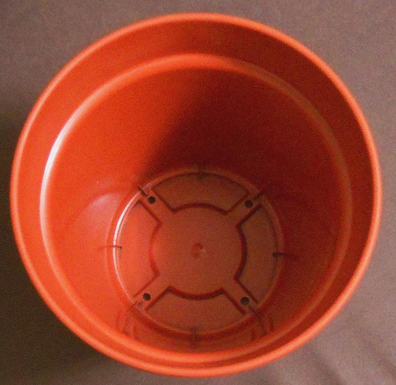 Горшок (вазон) с поддоном глория 19 см - Фото 3