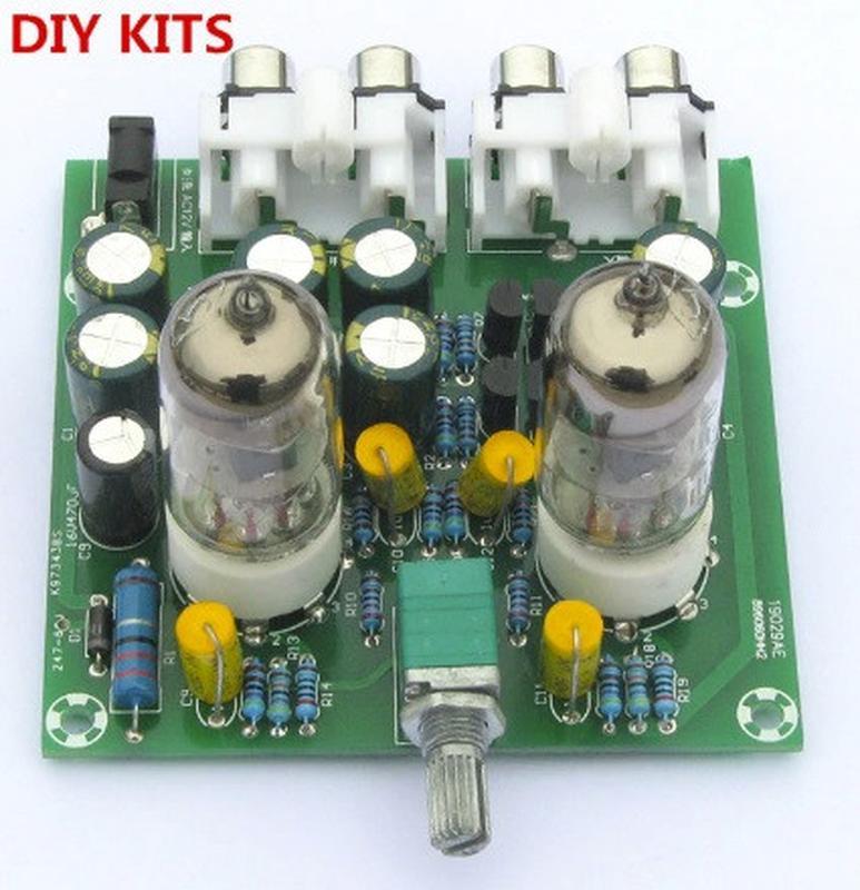 6J1 6J2 Ламповый усилитель набор Стерео предусилитель