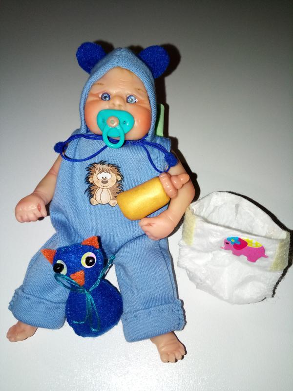 Кукла мини реборн