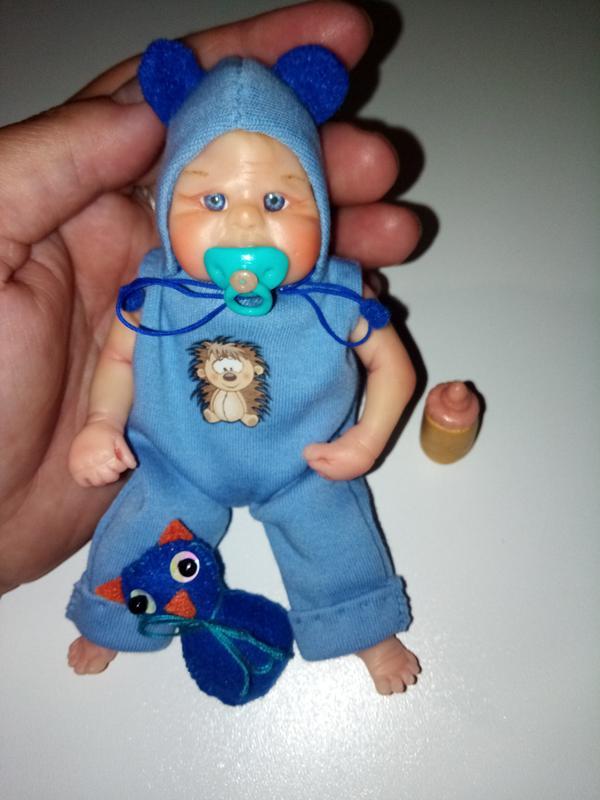 Кукла мини реборн - Фото 2