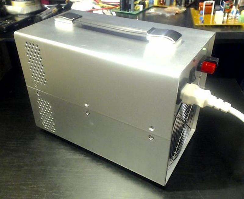 Лабораторный блок питания 0-50 Вольт, 0-20 Ампер =1000Wt. - Фото 3