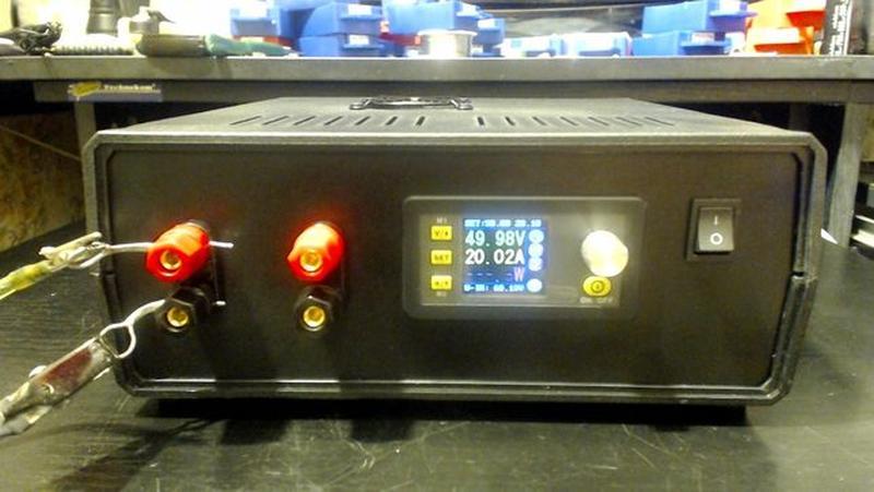 Лабораторный блок питания 0-50 Вольт, 0-20 Ампер =1000Wt. - Фото 4