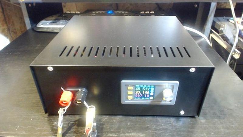 Лабораторный блок питания 0-50 Вольт, 0-20 Ампер =1000Wt. - Фото 6