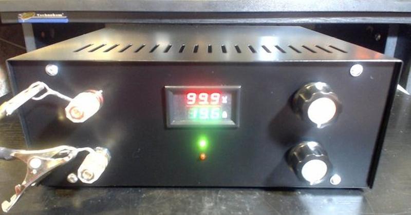 Лабораторный блок питания 100 вольт, 20 ампер 2000 ватт = 2 ки... - Фото 3