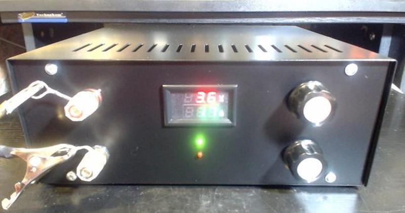 Лабораторный блок питания 100 вольт, 20 ампер 2000 ватт = 2 ки... - Фото 5