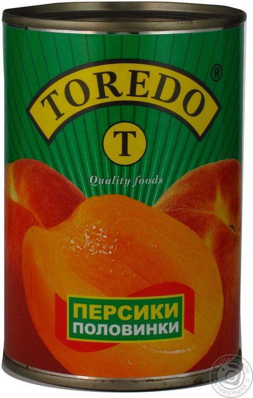 Персик консервированый половинки в сиропе