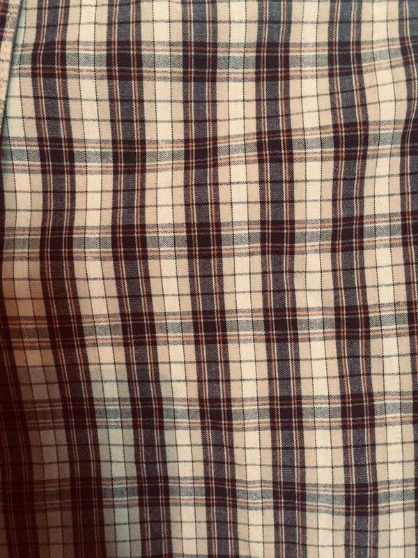 Стильная шведка,рубашка в клетку,хлопок,от бренда body sport - Фото 4