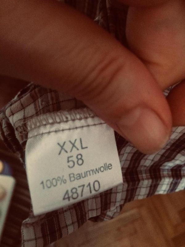Стильная шведка,рубашка в клетку,хлопок,от бренда body sport - Фото 5