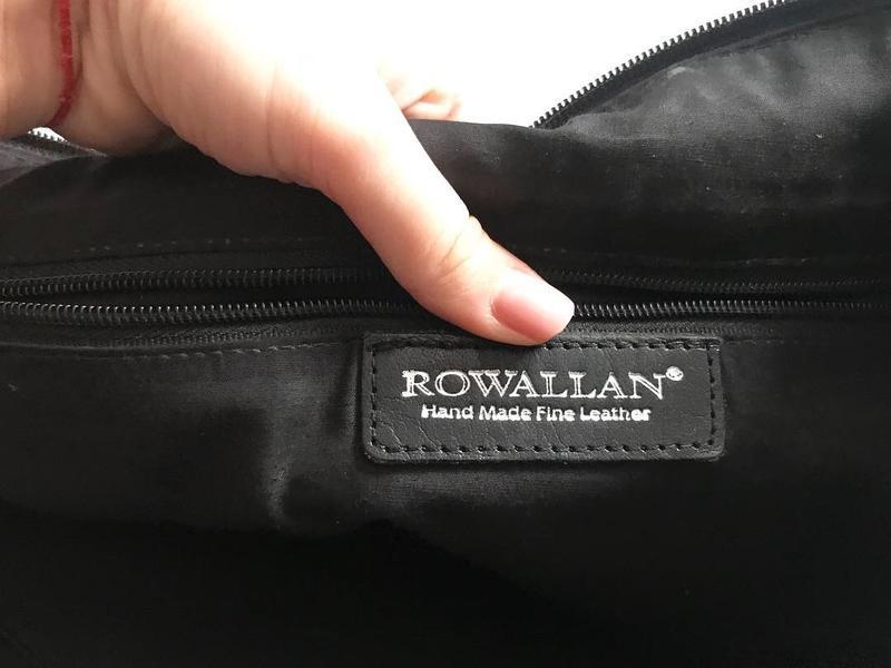 Кожаная сумка handmade - безумно дорогой бренд и очень ценится... - Фото 3