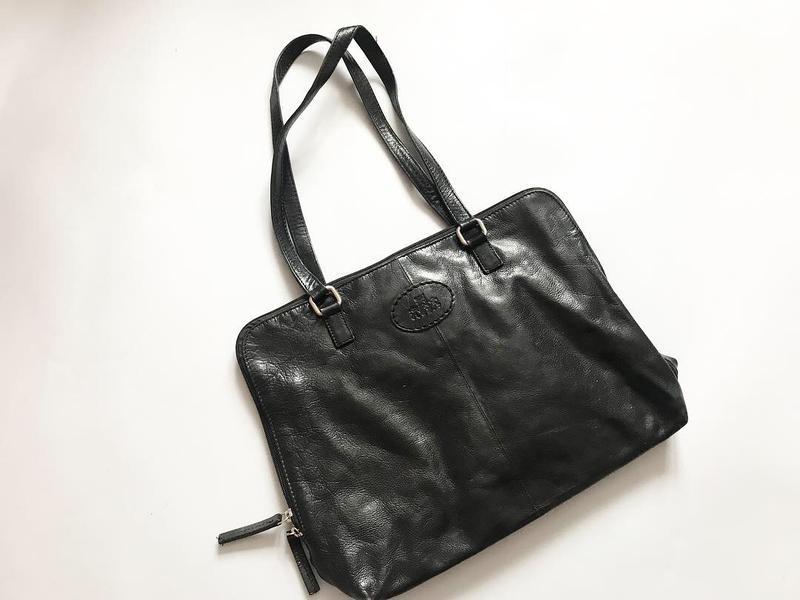 Кожаная сумка handmade - безумно дорогой бренд и очень ценится... - Фото 4
