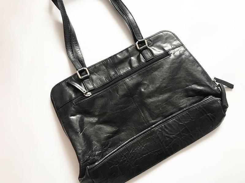 Кожаная сумка handmade - безумно дорогой бренд и очень ценится... - Фото 5