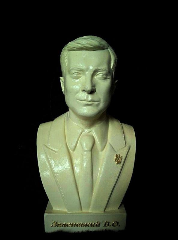 Бюст, скульптура В.О.Зеленского 23 см - Фото 2