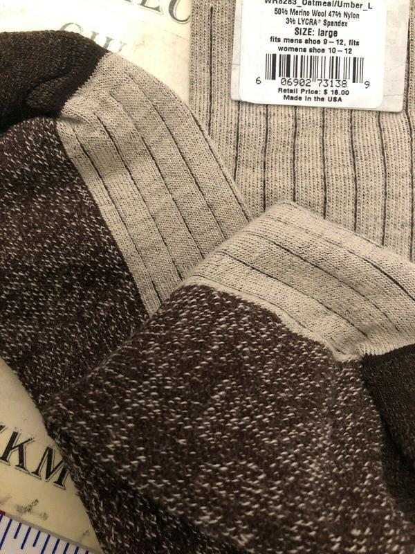 Носки с шерстью мериноса woolrich оригинал из сша - Фото 3