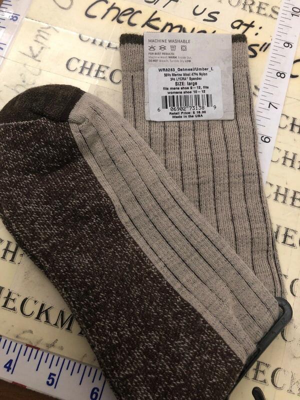 Носки с шерстью мериноса woolrich оригинал из сша - Фото 6