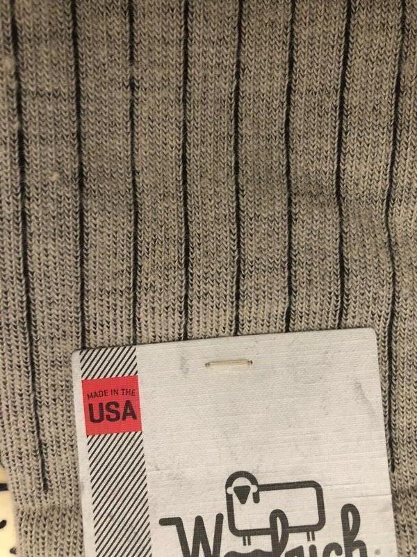 Носки с шерстью мериноса woolrich оригинал из сша - Фото 7