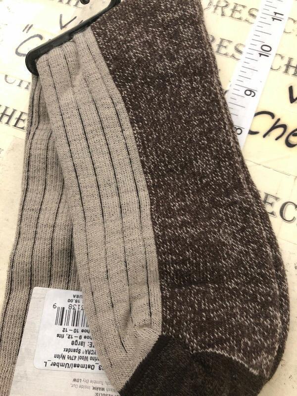 Носки с шерстью мериноса woolrich оригинал из сша - Фото 8