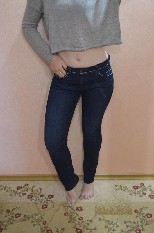 Темные джинсы molita slim straight