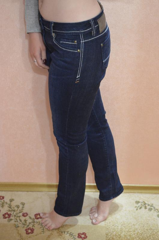 Темные джинсы molita slim straight - Фото 4
