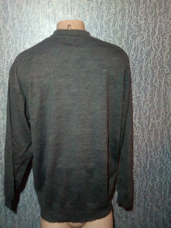 Теплый свитер с  шерсти мериноса. - Фото 3