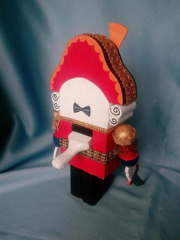 Деревянная кукла-орехокол Щелкунчик (из м/ф 1973 года) - Фото 5