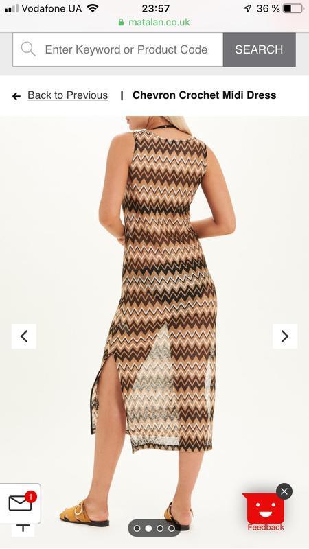 Платье летнее matalan как вязанное, очень крутое - Фото 2