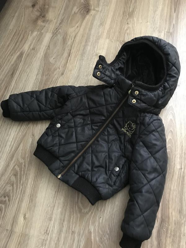 курточка для девочки китти