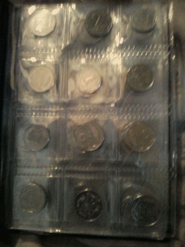 Монеты Украины 1, 2 5  25 50 копеек