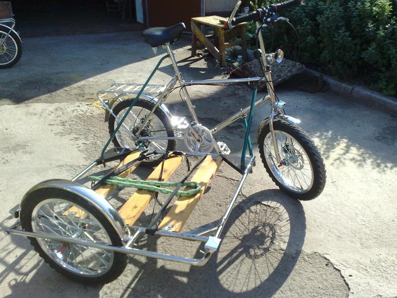 Велосипед грузовой - Фото 4