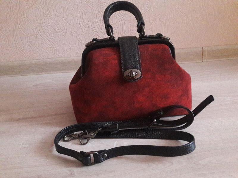 сумка женская кожанная