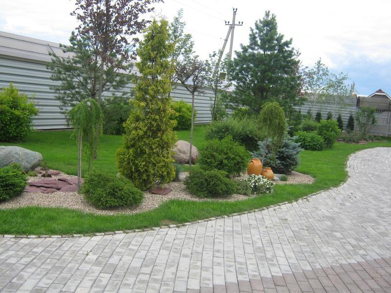 Ландшафтный дизайн, озеленение,благоустройство. в Покровске .