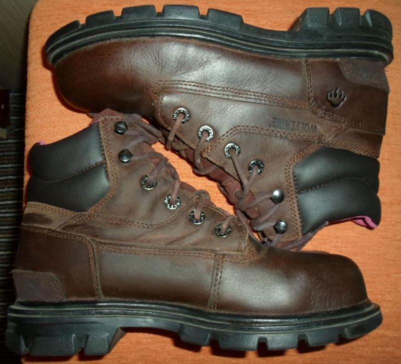 Ботинки берцы кожаные размер 38 - Фото 3