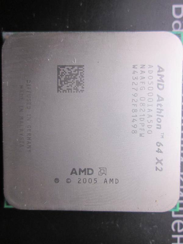 AMD Athlon 64x2 Socket AM2,2.6 ГГц/L2 512Кбx2/2000МГц