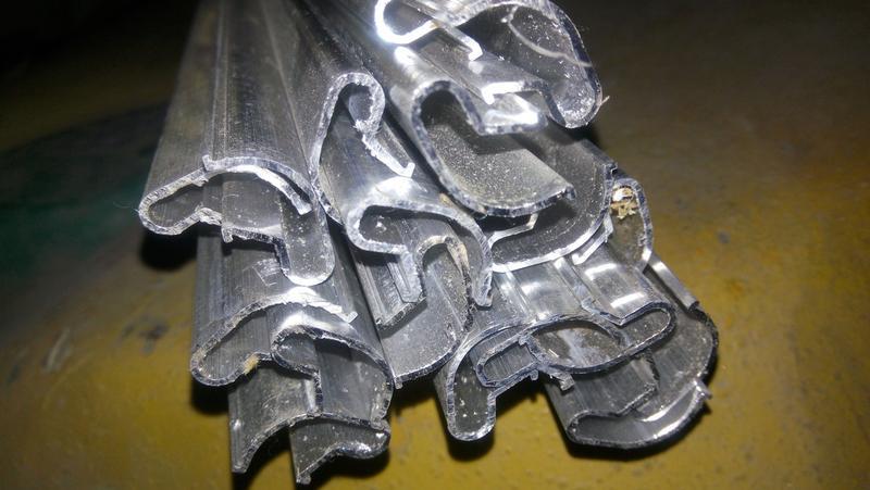 Вставки алюминиевые для экспопанель эконом панели - Фото 2