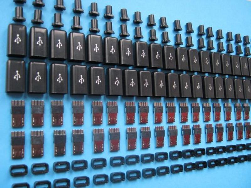 Штекер (разъем) мicro USB разборной